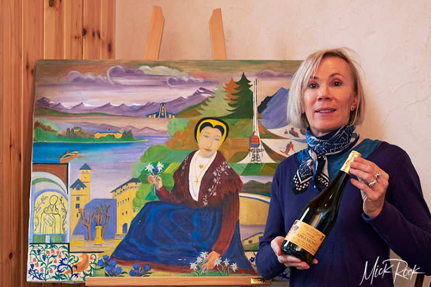 The Vigneronne of Apremont: Béatrice Bernard RIP