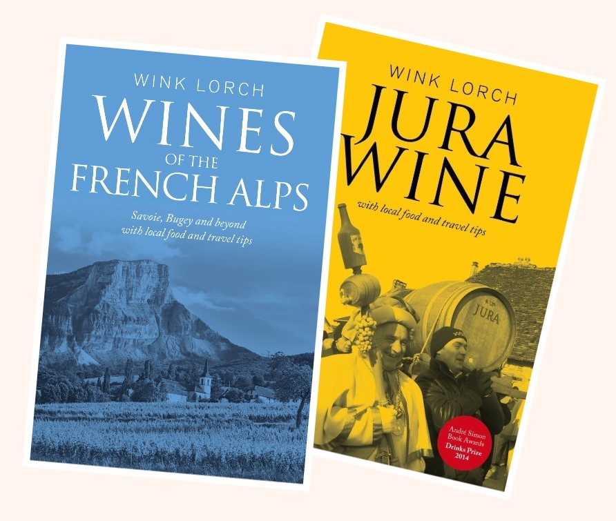Two book package - Jura Wine and Wines of the French Alps