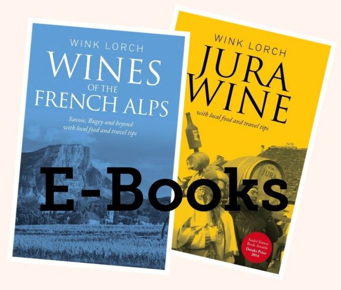 Two E-book package - Wines of the French Alps and Jura Wine (E-Pub)